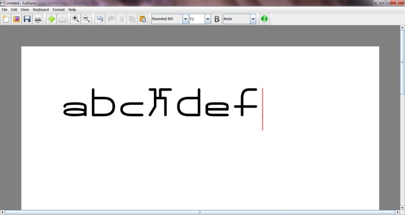 Use the new symbol in your document along with other symbols and letters